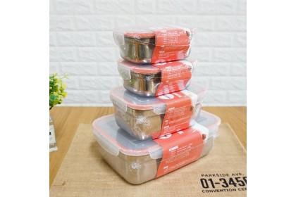 保鮮專家 不鏽鋼保鮮盒 划算四件組 (540 X2+1150+2800)