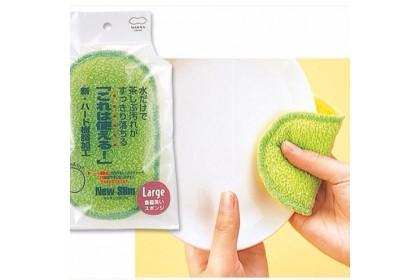 日本 Marna 雙面清洗菜瓜布  #柯以柔妈咪强力推荐