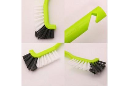 日本製 L型清潔刷 排水口刷 / 清潔刷