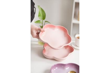 香港 My Pottery 花花深盤