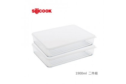 韓國 SILICOOK 冰箱收納盒系列