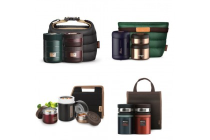 韓國 Twingo Thermos Lunch Box Container with Lunch Bag Collection