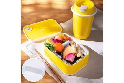 日本制Mosh!拿铁罐头型日式饭盒